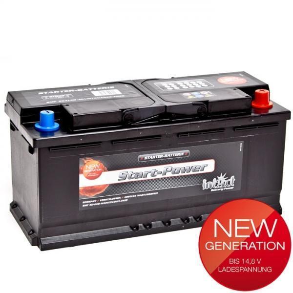 intact 61042 new generation autobatterie 12 v 110 ah. Black Bedroom Furniture Sets. Home Design Ideas