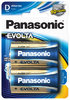 Panasonic EVOLTA LR20 Mono D Batterie 2er Pack