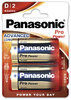 Panasonic Pro Power LR20 Mono Batterie 2er Pack