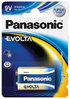 Panasonic EVOLTA 6LR61 9V-Block Batterie 1er Blister