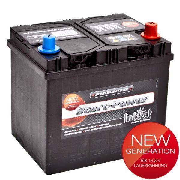 intact 56068 new generation autobatterie 12 v 60 ah. Black Bedroom Furniture Sets. Home Design Ideas