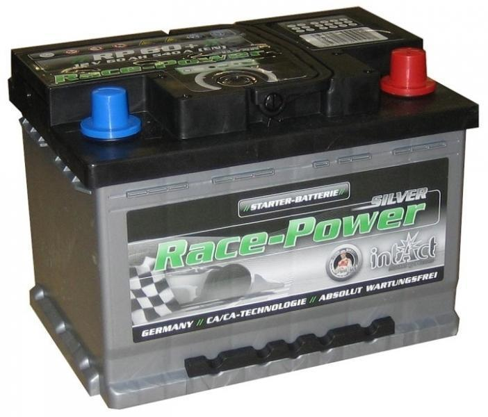 intact rp60 race power autobatterie 12 v 60 ah. Black Bedroom Furniture Sets. Home Design Ideas